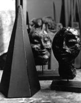 Heads. Cement Fondu  c.1960